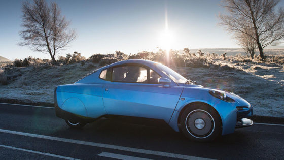 Hydrogen powered electric car - The Rasa