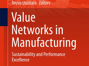 Business modelling for sustainable manufacturing