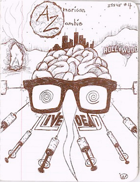 """""""American Zombie"""" 'Zine - LIVE DEAD, Issue #4"""