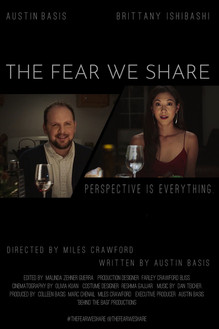 "Poster for Austin's short film ""The Fear We Share"""