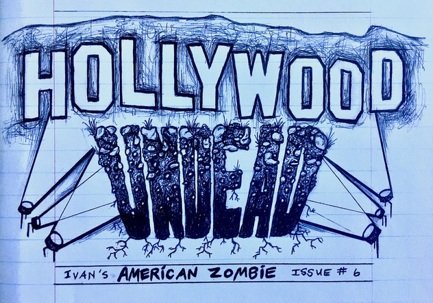 """""""American Zombie"""" 'Zine - Hollywood UNDEAD, Issue #6"""