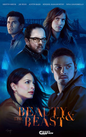 """Cast poster for """"Beauty & the Beast"""" by Catherine Nodet"""