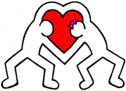 LOVE, Haring-Style