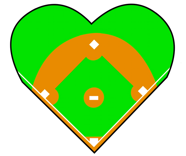 Baseball Field HEART