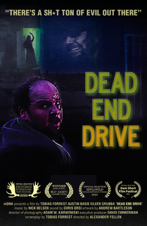 "Poster for the short film ""Dead End Drive"" which Austin produced & starred in, and is currently premiering at festivals"
