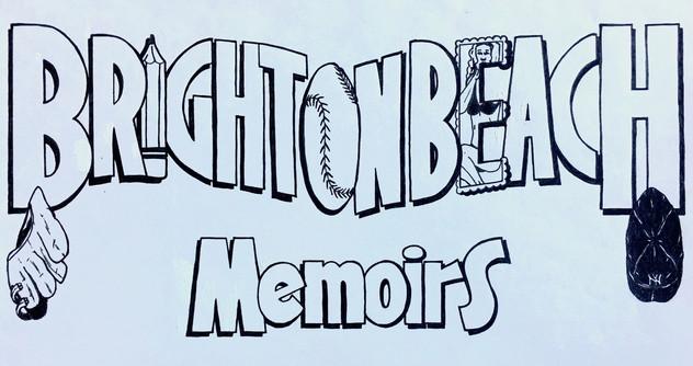 """""""Brighton Beach Memoirs"""" playbill design"""
