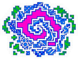 Graphic Hypno-Doodle a.k.a. Stormfront Spiral