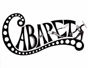 """CABARET"" playbill design"