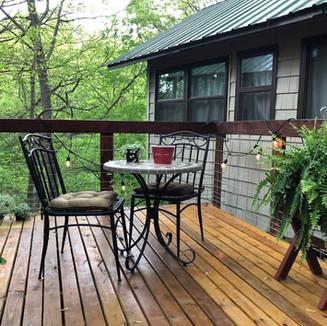 Serenity Creek Treehouse Deck