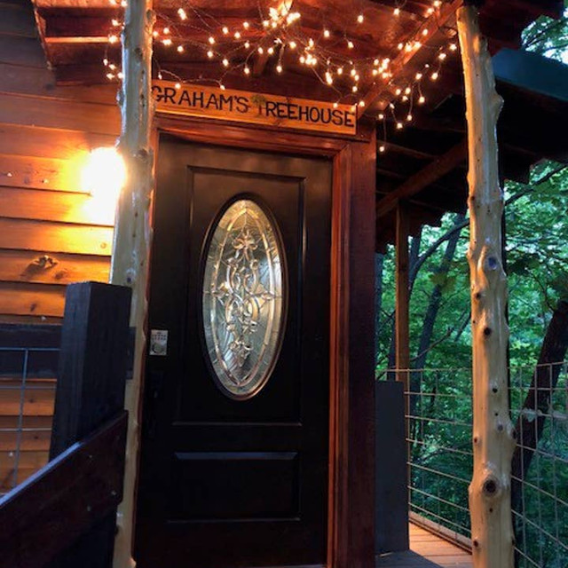 Graham's Treehouse Entrance