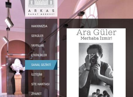 Sanal Gezi: Ara Güler Sergisi