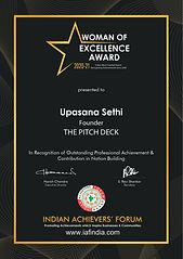 award by IAF India