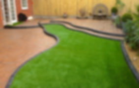 artificial laid turf