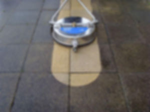 Specialist paving cleaning