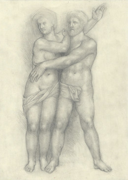 Adam and Eve at the Bargello in Florence