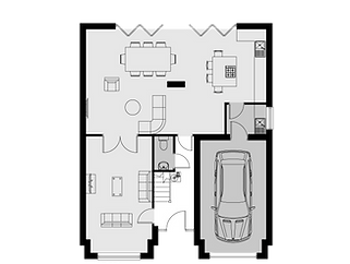570-02-00 - House Type 2 - GF - Sales Pl