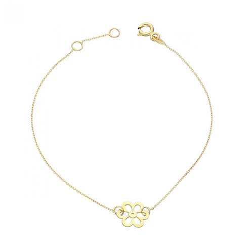 Gold Bracelet Daisy