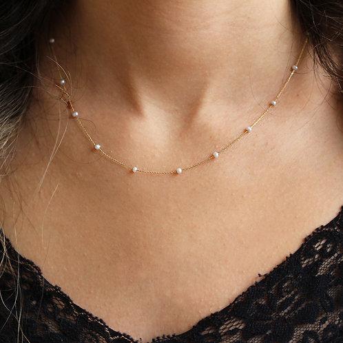 Pearl Gold Halskette
