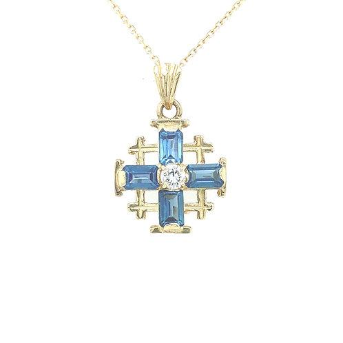 Phoenix Cross Necklace