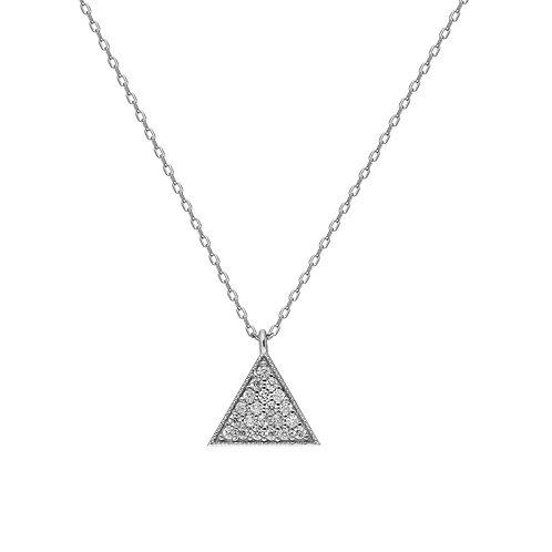 Silber Threegen Silver Necklace
