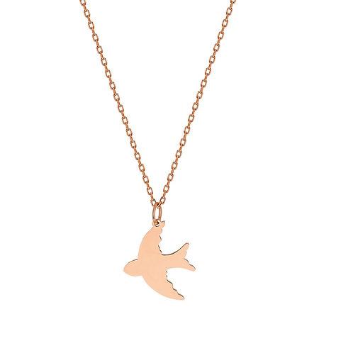 Gold Phoenix Necklace