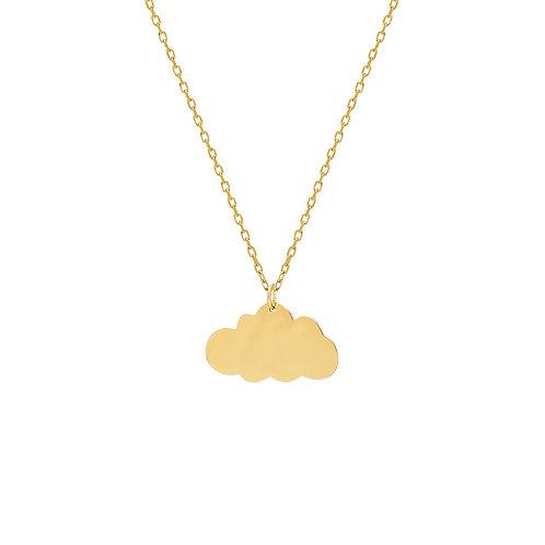 Gold Cloud Halskette
