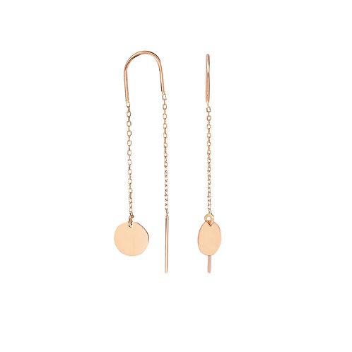 Roségold Plate Earrings