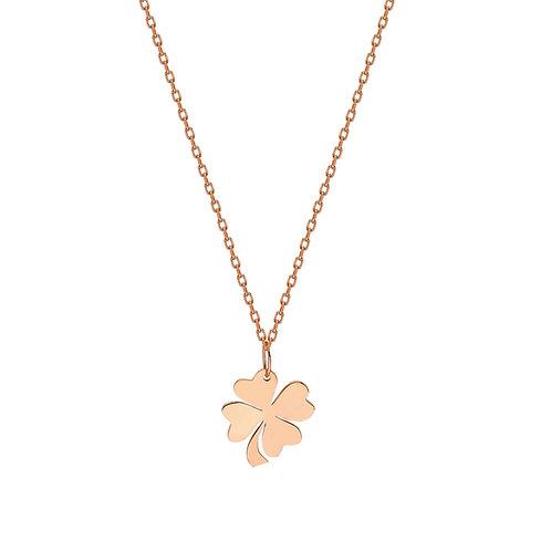 Roségold Clover Necklace