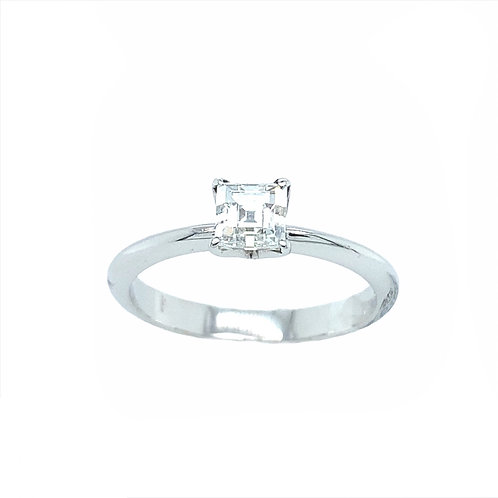 Solitaire Princess Ring