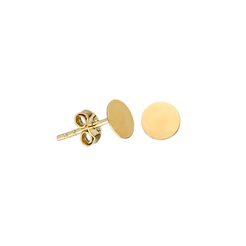 Gold Plate Earring Studs