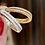Thumbnail: Double Half Memoire  Ring