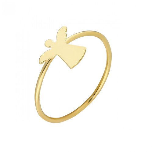 Ring Gold Angel