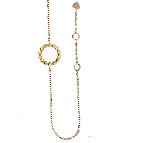 Rosegold Plait Bracelet