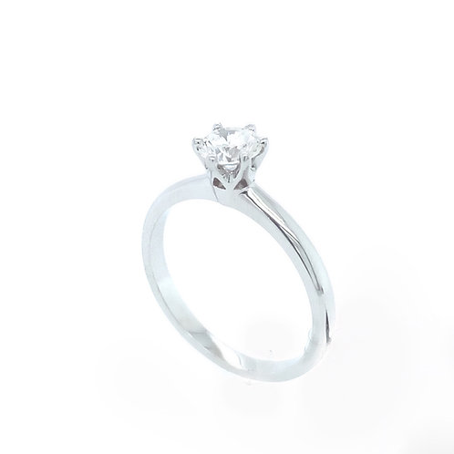 Solitaire Glamour Ring