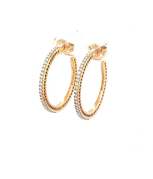 Rosegold Hoop Earrings