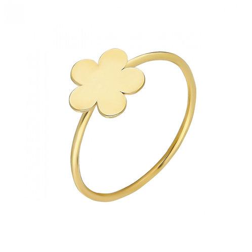 Ring Gold Flower