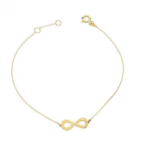 Gold Armband Infinity