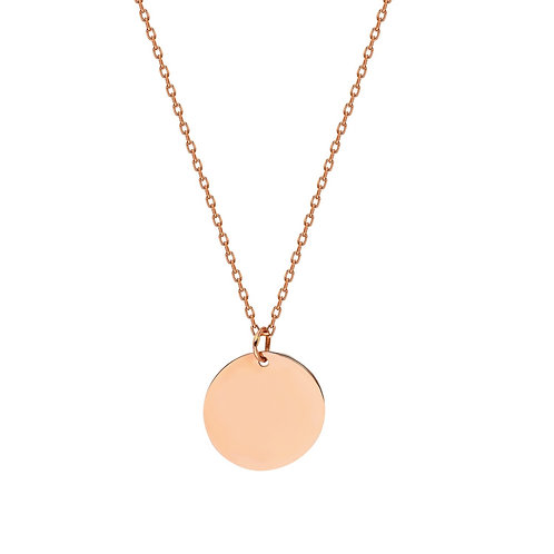 Roségold Plate Necklace