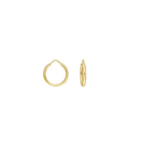 Gold Creolen 1,3cmm