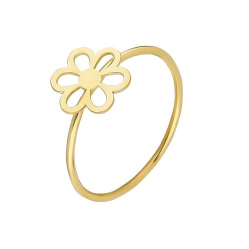 Gold Daisy Ring