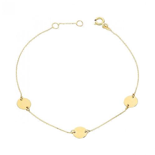 Gold Armband 3 Plate