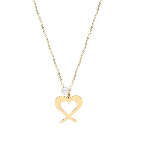 Swing Gold Heart Halskette