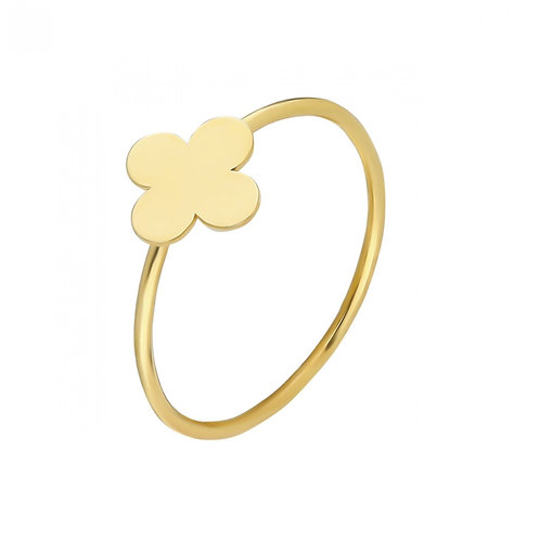 Ring Gold Clover
