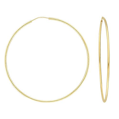 Gold Creolen 5,5 cm