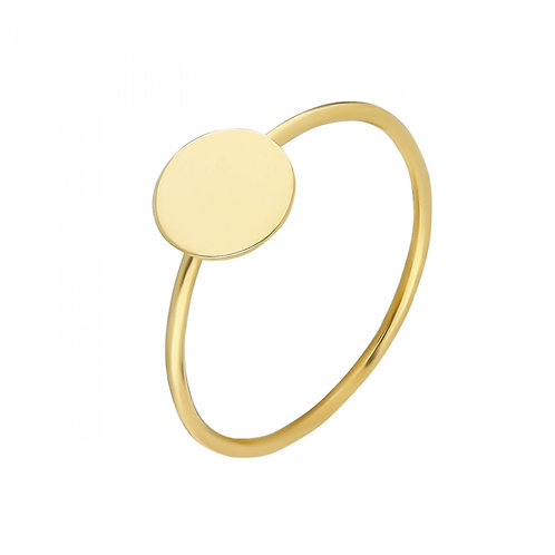Gold Plate Ring