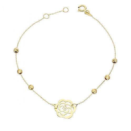 Gold Armband Rose