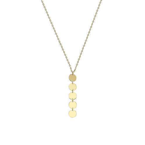 Line Plate Necklace
