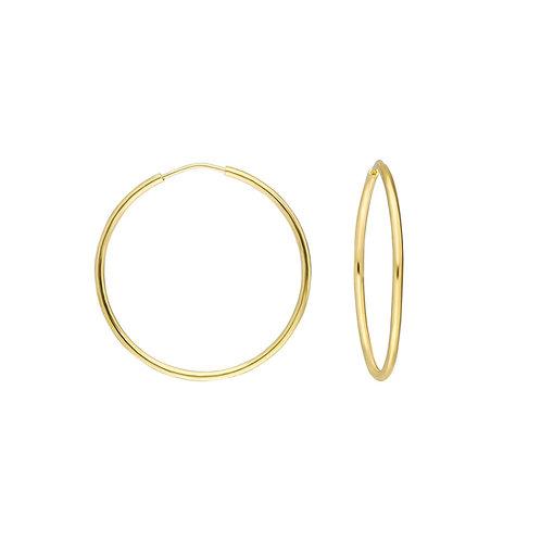 Gold Creolen 3 cm