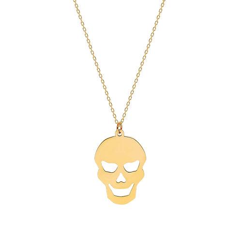 Gold Skull Halskette
