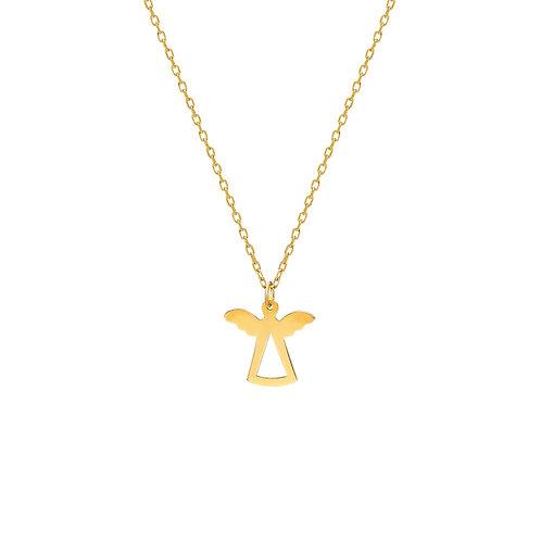 Gold Angel Halskette